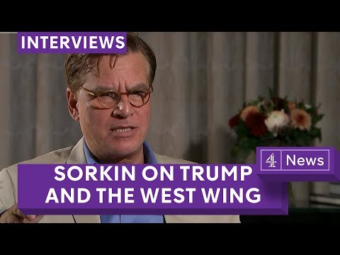 Aaron Sorkin on bringing back the West Wing, Trump and Molly's Game  full