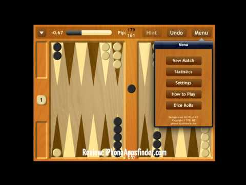 Backgammon NJ - Our pick for Top Backgammon App for iOS