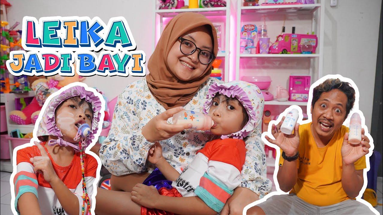 Download 24 JAM LEIKA JADI BAYI , AYAH BUNDA KEBINGUNGAN!