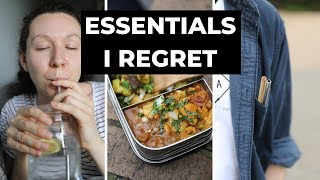 Zero waste essentials I REGRET buying