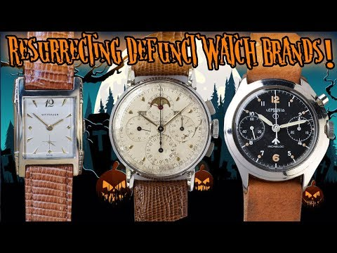 These Old Watch Brands Need To Come Back To Life!