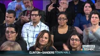Bernie Sanders Responds to Question on Rising Islamophobia During MSNBC Town Hall 1