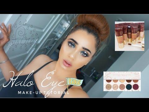 Halo EyeMakeup Tutorial ...  Dominique Cosmetics Latte Palette thumbnail