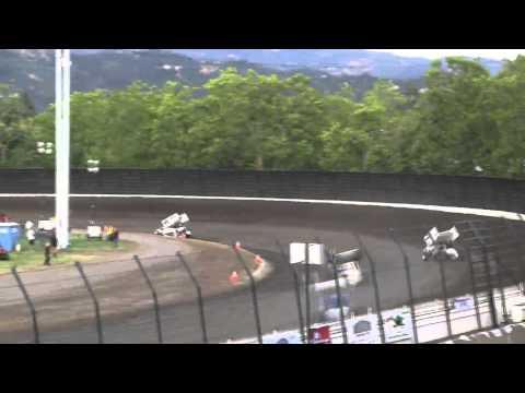 Dominic Scelzi 6/27/15 KWS Heat Race Calistoga Speedway