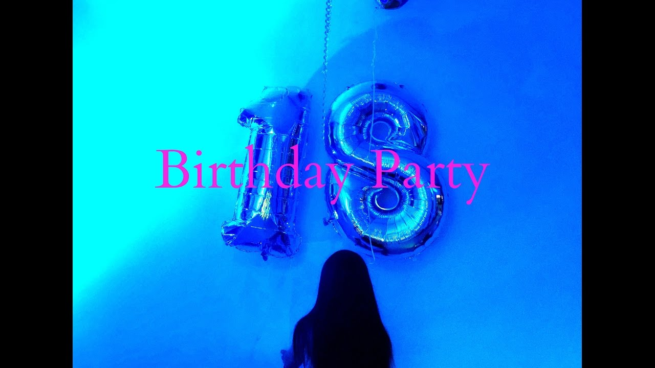 Youtube 18. Geburtstag
