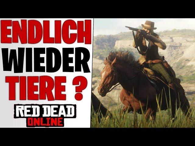 ENDLICH WIEDER TIERE ? - Neues Titel Update 1.17 & 1.18 Patchnotes | Red Dead Redemption 2 Online