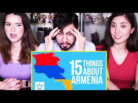 15 THINGS YOU DIDN'T KNOW ABOUT ARMENIA | Reaction!