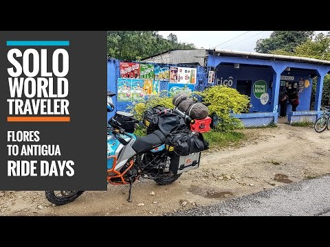 Ride Day 27: Flores to Antigua, Guatemala City, Guatemala