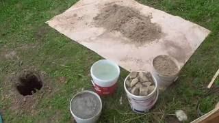 видео Как быстро и дешево сделать фундамент для дома или пристройки