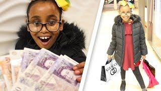 I Gave My Little Sister One Hour To Spend £100
