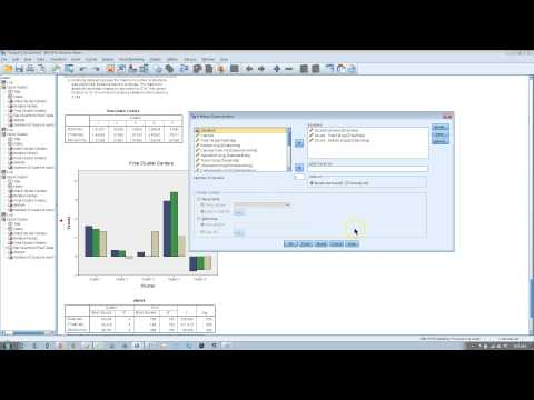 Validating K-means cluster anslysis in SPSS