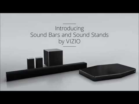 VIZIO  5 1 Channel Sound Bar with Satellite Speakers and Wireless Subwoofer