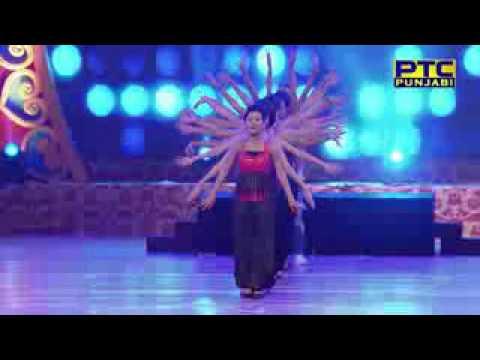 Akhil ||ikka||Jasmine Sacandel|Ninja||Sharry Mann Performance At PTC Punjabi Award 2017