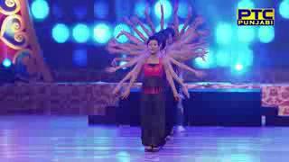 akhil ikkajasmine sacandelninjasharry mann performance at ptc punjabi award 2017