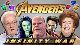 Download youtube to mp3: ELDERS REACT TO AVENGERS: INFINITY WAR TRAILER