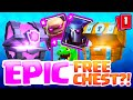 Clash Royale MAGICAL Chests MAXED - EPIC Card from FREE Chest 'SECRET'!