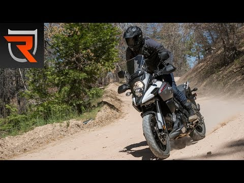 2018 Suzuki V-Strom 1000 First Test Review Video | Riders Domain