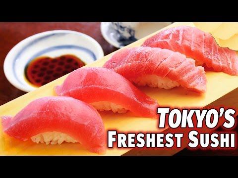 Tokyo's Freshest Sushi | Tsukiji Fishmarket