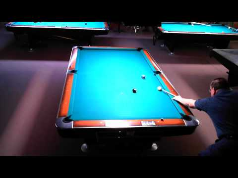 Ed Latimer Dennis Walsh Red Shoes Billiards Straight Pool