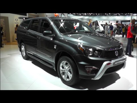 ssangyong actyon sports 2015 in detail review walkaround. Black Bedroom Furniture Sets. Home Design Ideas