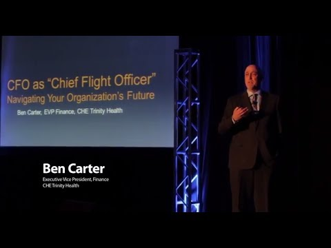 Ben Carter:  CFOs as Chief Flight Officers