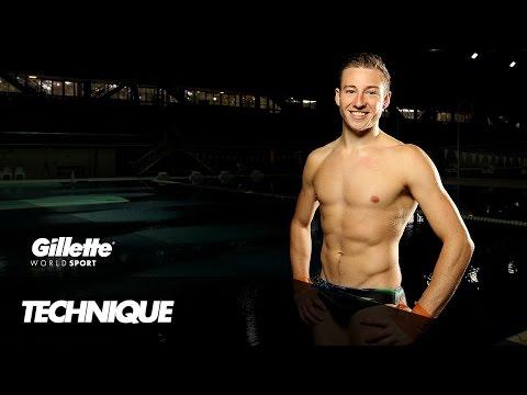 10m Diving Technique with Matthew Mitcham   Gillette World Sport