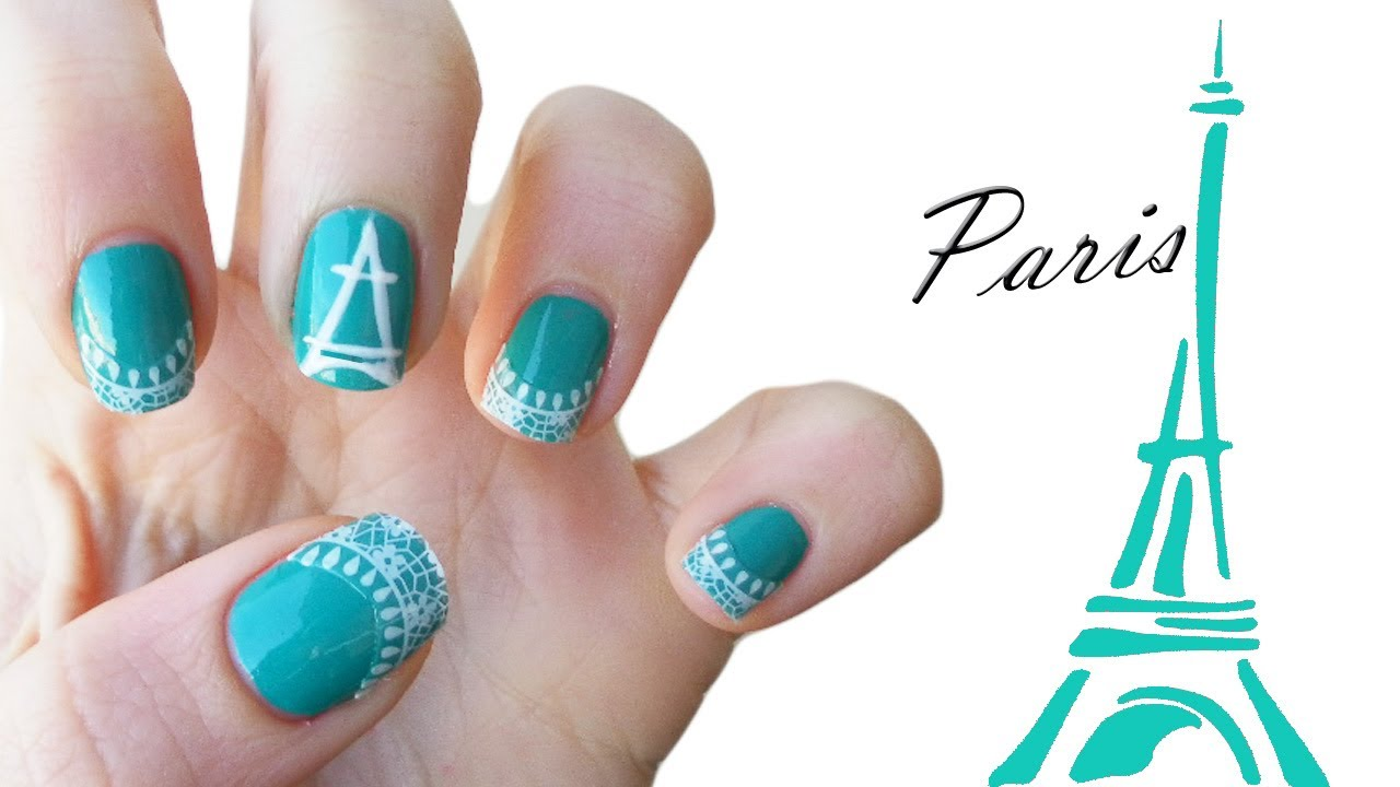 Paris Nail Art ♥ - Paris Nail Art ♥ - YouTube