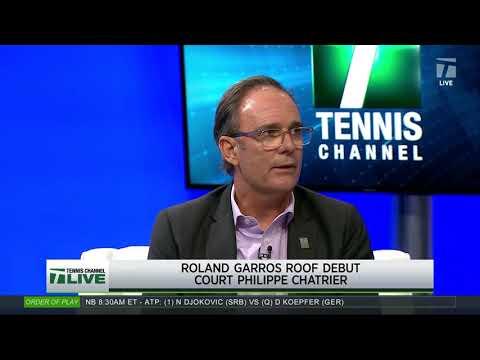 Tennis Channel Live: Roland Garros Gets A Roof
