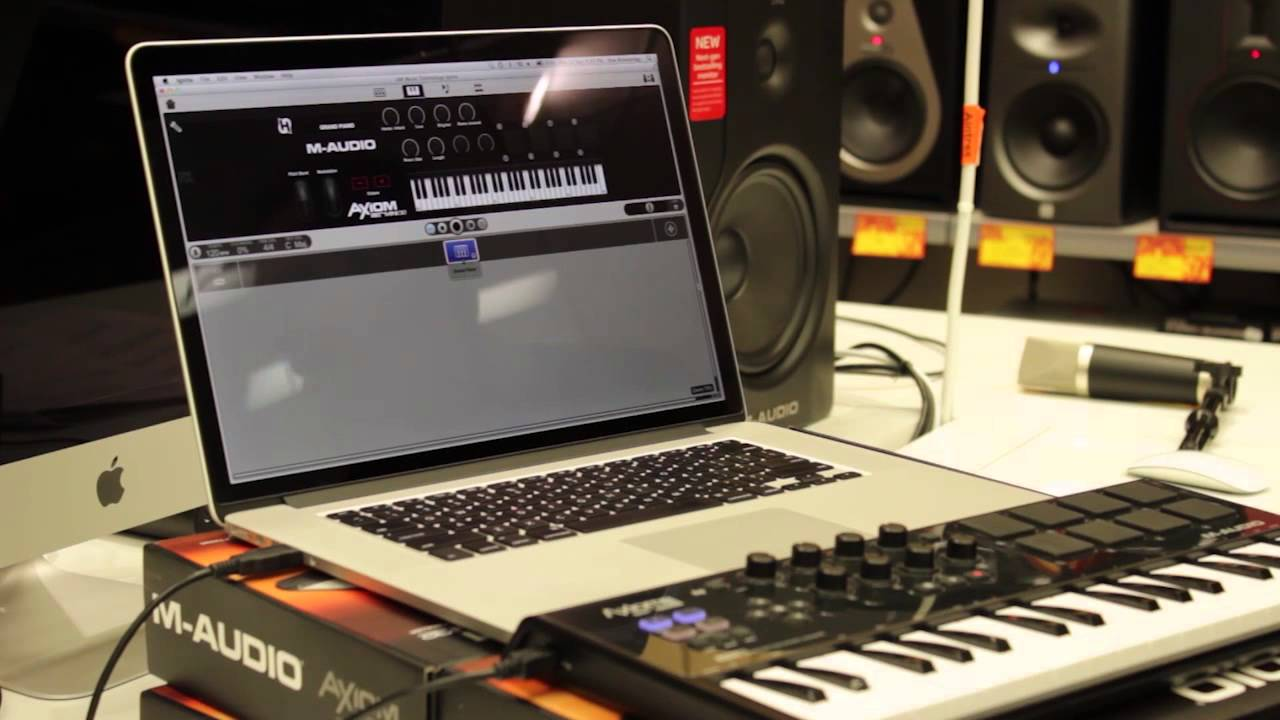 get started in music production with the axiom air mini 32 youtube. Black Bedroom Furniture Sets. Home Design Ideas