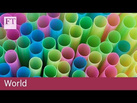 UK proposes plastic straw ban