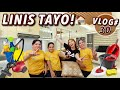 VLOG#30: LINIS TAYO NG BAHAY! HOUSE UPDATE 🏠 | FT. BUSY BEE CLEANING PH | Candy Inoue ❤️