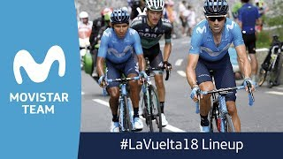 #LaVuelta18: Official lineup