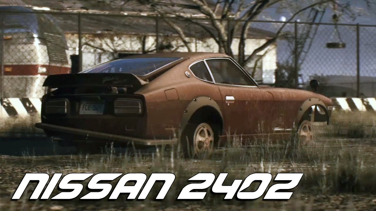 Need for Speed Payback Nissan 240Z Derelict Parts Location Guide (NFS  Payback)