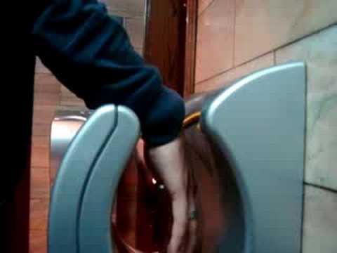 Maquina de secar maos youtube for Maquina de segar