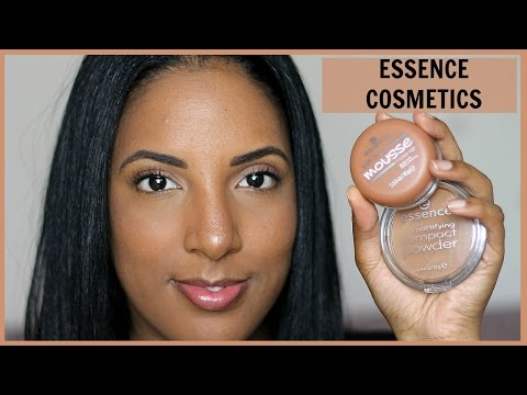 REVIEW + DEMO: Essence Cosmetics Soft Touch Mousse Foundation | #loveyourshade | Canvas Fashions