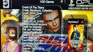 MY MODDED PS2 1TB HDMI 250 games