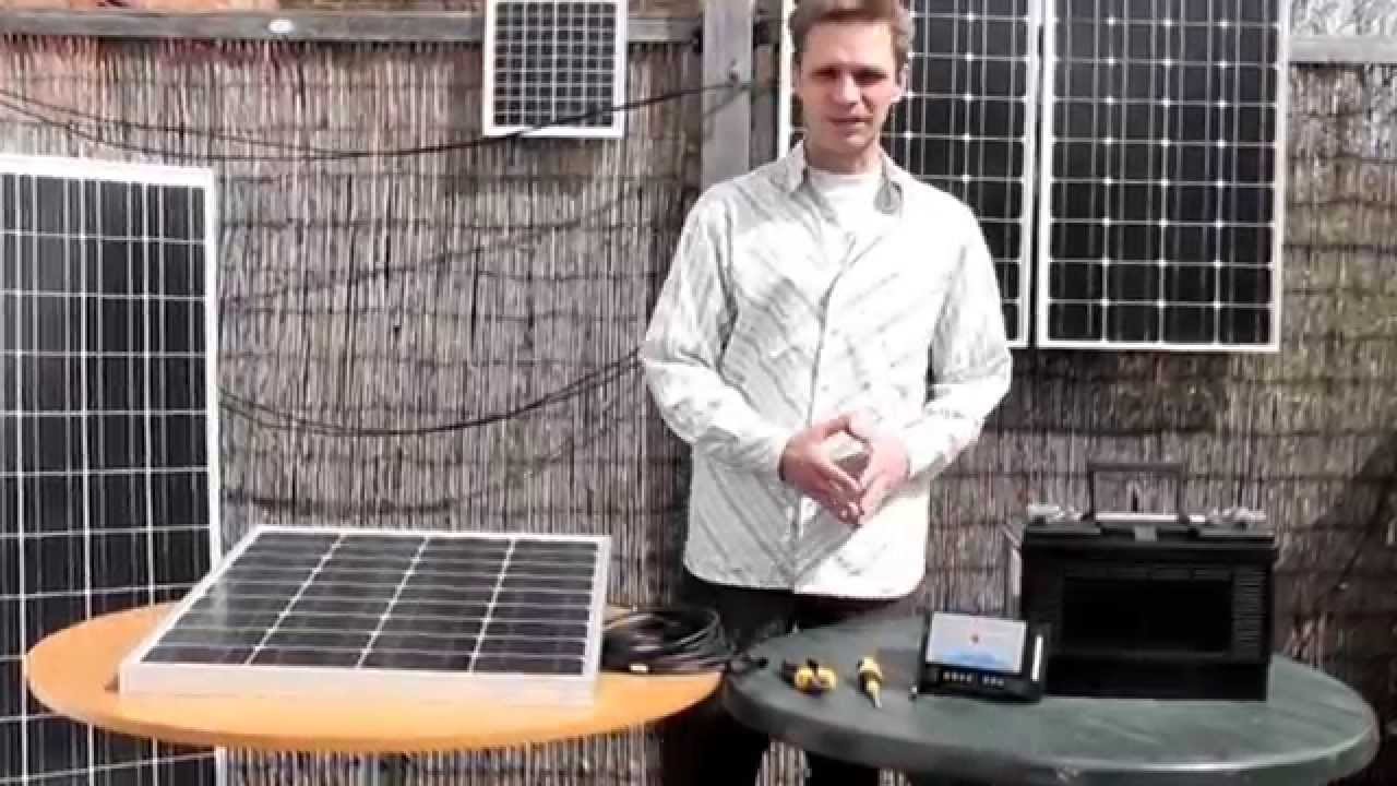 Regolatore Pannello Solare Zaino : Collegamento di un pannello solare quot akt ad una batteria