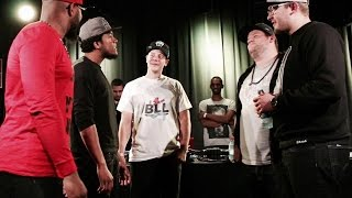 BLL - NO MERCY & MINDSTEIN vs T-WAY & PETER PUNCHLINE - 2vs2