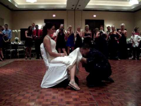 J j wedding garter removal youtube j j wedding garter removal junglespirit Image collections