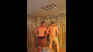 Doing full monty at pensioner's party