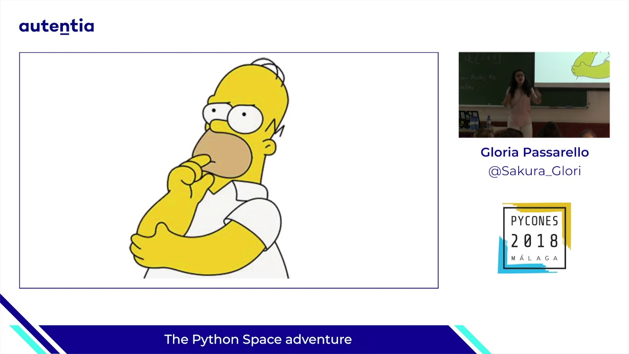 Image from The Python Space adventure