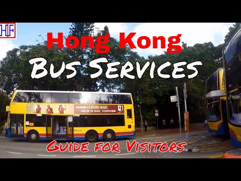 Hong Kong | Bus Services - Getting Around | Travel Guide | Episode# 3