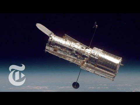 Hubble Space Telescope Reflects the Cosmos | Out There | The New York Times