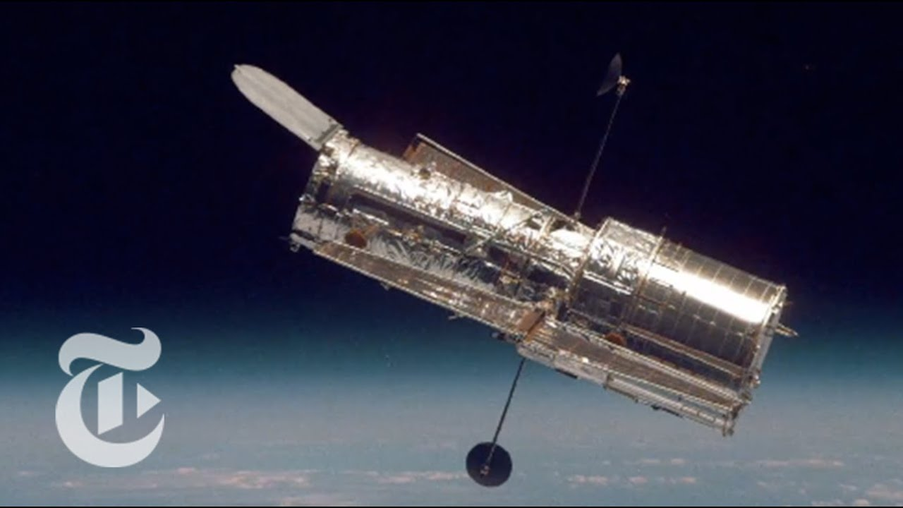 Hubble Space Telescope Reflects the Cosmos   Out There   The New York Times
