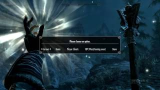 Skyrim How To Use Sheogorath's Cheat Menu (Xbox One Mod)