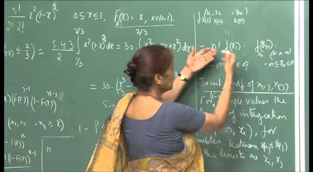 Mod-01 Lec-17 Covariance, Correlation, Cauchy- Schwarz inequalities, Conditional expectation.