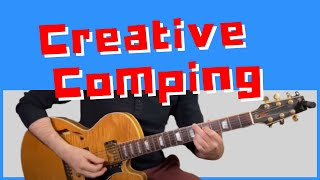 Creative Comping with Shęll Voicings on Nica's Dream Vamp || Jazz Guitar Lessons Daily 39