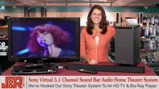 Sony Sound Bar Home Theater System -- Review