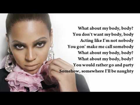 Beyoncé - Kitty Kat (instrumental/with lyrics)