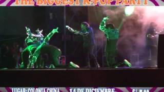 THE BIGGEST K-POP PARTY - BARRANCA